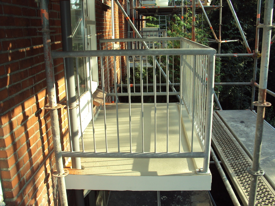 Balkonhekken staal Groningen