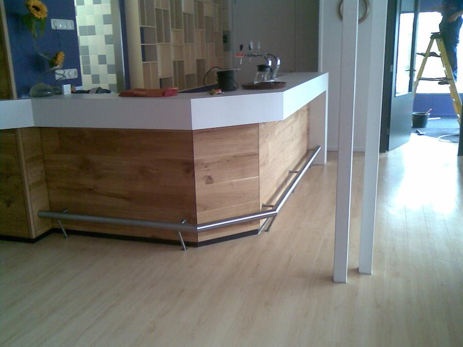 RVS voetensteun bar De Rotonde