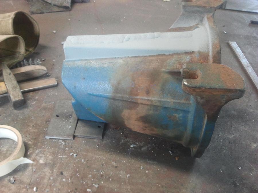 Reparatie gietijzeren pomp