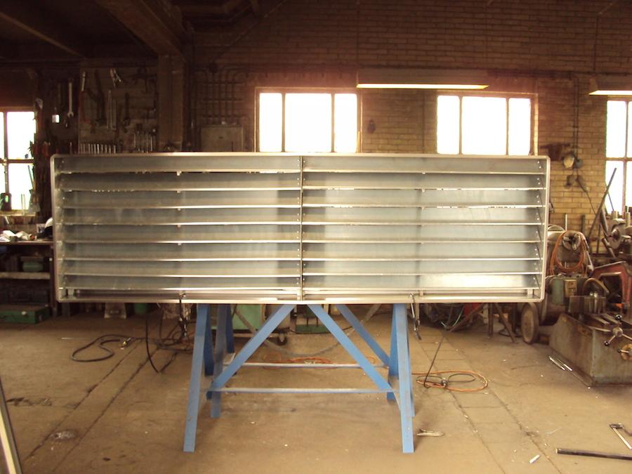Ventilatietrooster staal Hendrik De Vries
